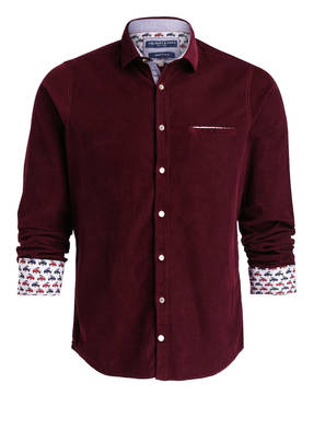 COLOURS & SONS Cordhemd Slim Fit