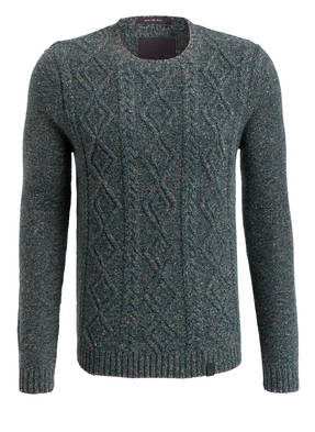 COLOURS & SONS Pullover mit Zopfmuster