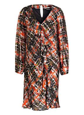 SPORTALM Kleid MUCK OUT LONG mit Volants und Seidenanteil