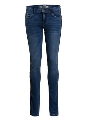 RETOUR DENIM DELUXE Jeans mit Galonstreifen