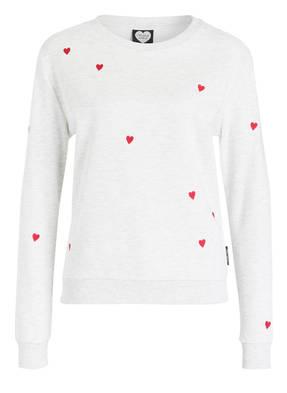 CATWALK JUNKIE Sweatshirt LOVE WINS