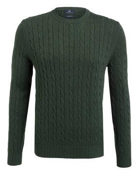 STROKESMAN'S Pullover mit Zopfmuster