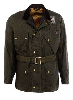 BARBOUR INTERNATIONAL Fieldjacket JOSHUA mit herausnehmbarem Kunstpelzfutter