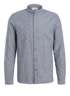 NOWADAYS Oxford-Hemd Slim Fit mit Stehkragen