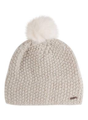 Barts Mütze YMAJA mit Kunstpelzbommel