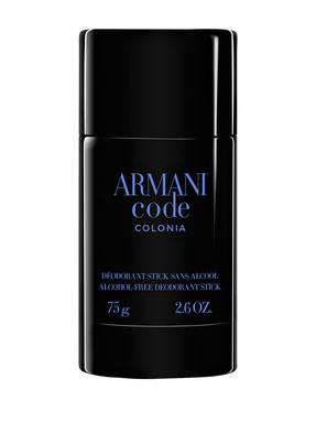 GIORGIO ARMANI BEAUTY ARMANI CODE HOMME COLONIA