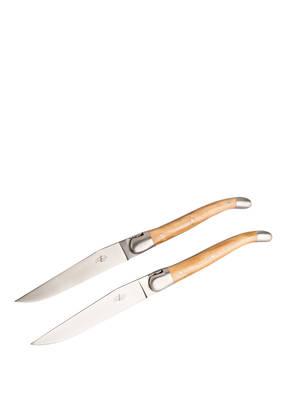 FORGE DE LAGUIOLE 2-tlg. Steakmesser-Set