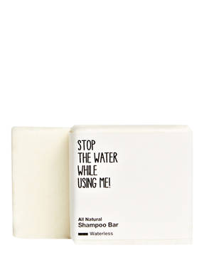 STOP THE WATER WHILE USING ME! ALL NATURAL SHAMPOO BAR