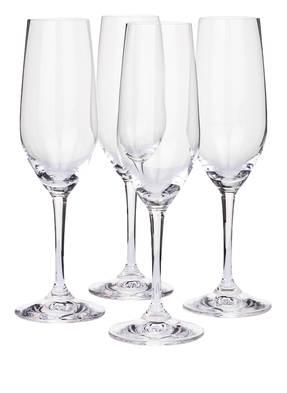 RIEDEL 4er-Set Champagnergläser VIVANT CHAMPAGNE
