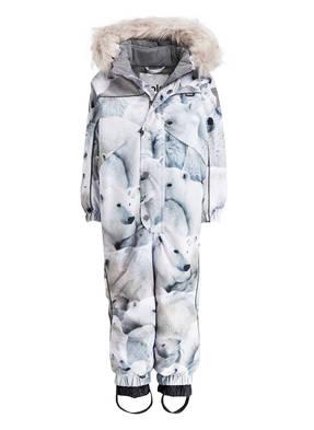 molo Schneeanzug mit abnehmbarem Kunstpelzbesatz