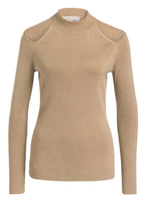 MICHAEL KORS Cold-Shoulder-Pullover