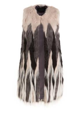OAKWOOD Weste INUIT in Fell-Optik