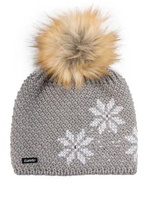 Eisbär Mütze BJÖRNA LUX  mit Strasssteinbesatz