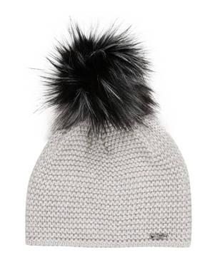 CAPO Mütze mit Kunstpelzbommel