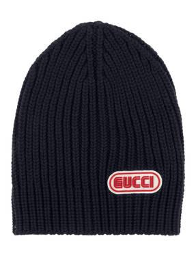 GUCCI Grobstrick-Mütze
