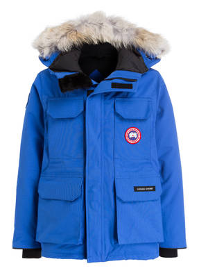 CANADA GOOSE Daunenjacke YOUTH PBI EXPEDITION mit Echtpelzbesatz