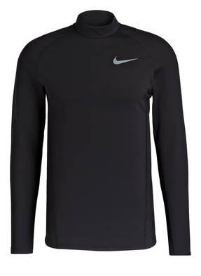 Nike Longsleeve THERMA mit Stehkragen