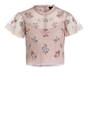 needle & thread Spitzentop ROSE SEQUIN