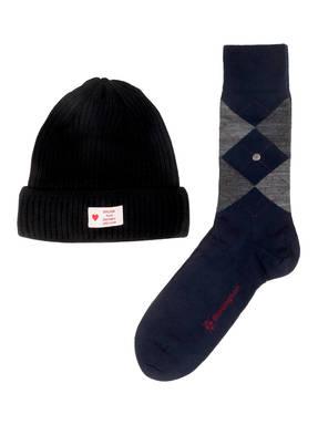 Burlington Geschenkset Socken und Mütze