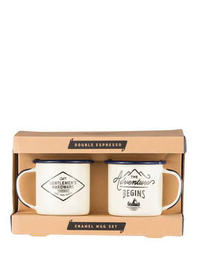 GENTLEMEN'S HARDWARE 2er-Set Espresso-Becher