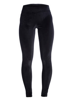HUE Leggings aus Samt