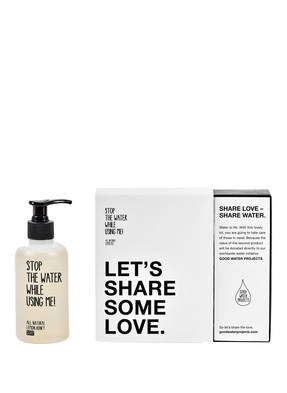 STOP THE WATER WHILE USING ME! SHARE SOME LOVE KIT