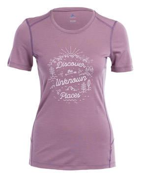 odlo T-Shirt ALLIANCE aus Merinowolle