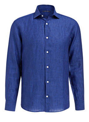 FRESCOBOL CARIOCA Leinenhemd Slim-Fit