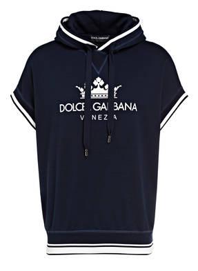 DOLCE&GABBANA Sweatshirt mit 1/2-Arm