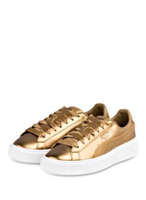 PUMA Sneaker BASKET PLATFORM LUXE