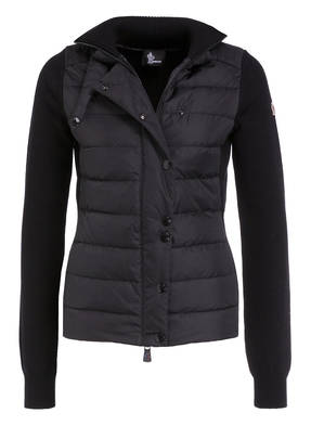 MONCLER GRENOBLE Strickjacke im Material-Mix