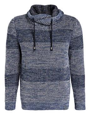 RAGMAN Grobstrick-Pullover mit Schalkragen