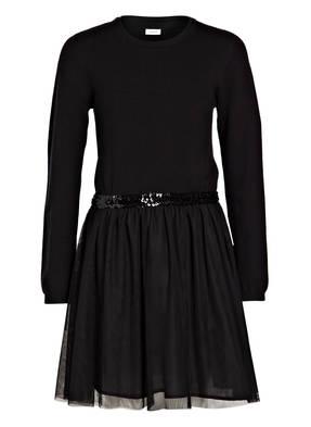 name it Kleid mit Tüll und Pailletten