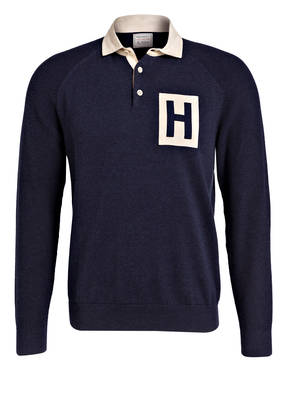 HACKETT LONDON Pullover mit Polokragen