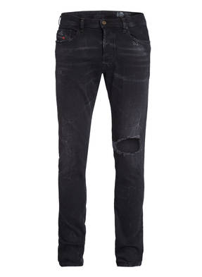 DIESEL Destroyed-Jeans TEPPHAR Slim Carrot Fit