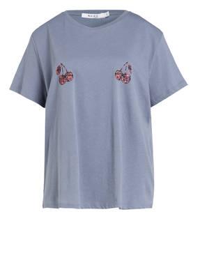 NA-KD T-Shirt CHERRY