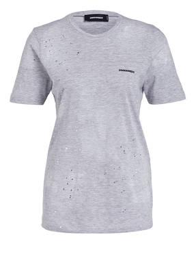 DSQUARED2 T-Shirt mit Destroyed-Details