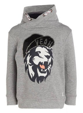 TOM TAILOR Sweatshirt mit Paillettenbesatz