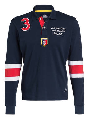 LA MARTINA Jersey-Poloshirt Regular Fit