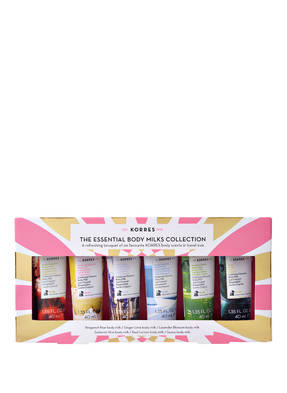 KORRES ESSENTIAL MINI BODY MILK COLLECTION