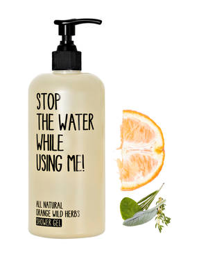 STOP THE WATER WHILE USING ME! ORANGE WILD HERBS