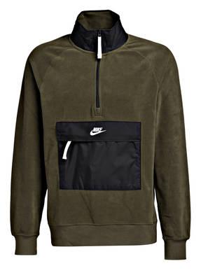 Nike Fleecepullover CORE im Materialmix