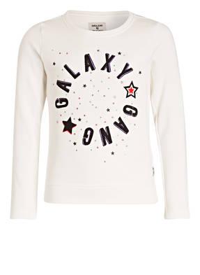 GARCIA Sweatshirt mit Schmucksteinbesatz