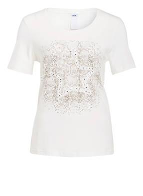 JOY sportswear T-Shirt ANNIKA mit Schmucksteinbesatz
