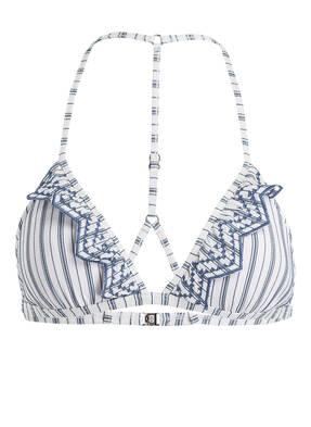 SEAFOLLY Triangel-Bikini-Top SEA STRIPE