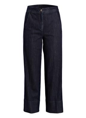 LUISA CERANO 7/8-Jeans mit Galonstreifen