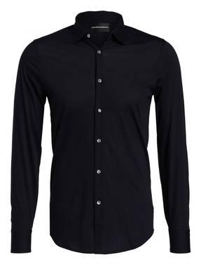 EMPORIO ARMANI Jersey-Hemd Slim Fit