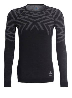 odlo Funktionswäsche-Shirt NATURAL + KINSHIP mit Merinowolle