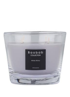 Baobab COLLECTION Duftkerze WHITE RHINO