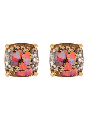 kate spade new york Ohrstecker GLITTER SMALL SQUARE